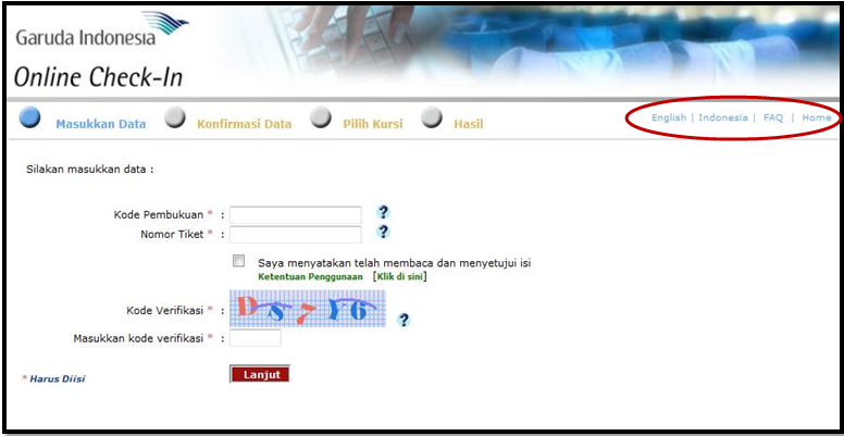 Tugas Imk Analisis Prinsip Prinsip Antarmuka Web Garuda Indonesia